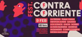 Este 9 de Febrero CONTRA CORRIENTE FEST.